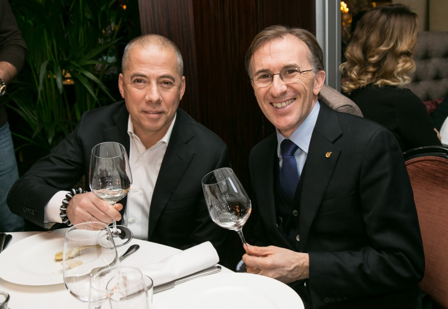 Paolo Basso, Best Sommelier in the World, Visits Russia