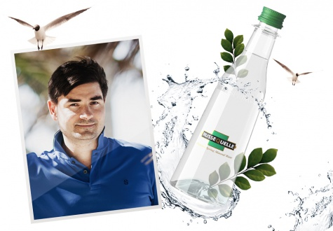 Secret of success: mineral water RusseQuelle