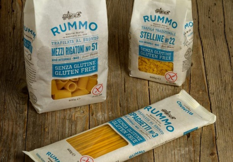 The Lenmix product range now includes Rummo gluten-free pasta