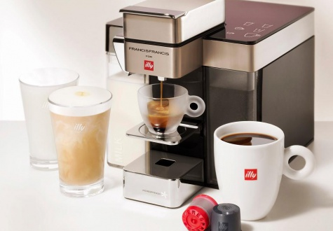 Achieve that perfect illy Taste with your personal at-home barista