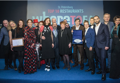 WHERETOEAT St. Petersburg Awards 2016