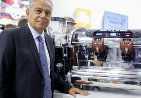 5 questions to La Spaziale president about the unicity of coffee equipment